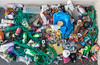 Litter collected from the Belle Greve Bay sea shore on 7th October 2013