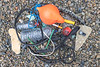 Litter collected from Saints' Bay on Guernsey's south coast on 14th February 2021