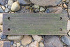Pilot ladder wood step washed up on the west side of Pembroke and collected on the 2nd September 2021