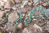 Thick, twisted rope washed up at Petit Port on Guernsey's south coast on 17th February 2020