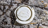 Ship motif on bottle cap or top at Petit Port on Guernsey's south coast on the 21st May 2021