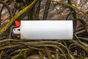 Plastic lighter washed up at Petit Port on Guernsey's south coast on the 26th May 2021