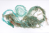 Longer lengths of frayed Nylon rope found on the Petit Port sea shore on Guernsey's south coast on 29 October 2017