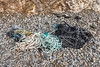 Damaged parlour pot with associated rope washed up at Soldiers Bay on Guernsey's east coast