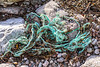 Rope washed up on the Petit Port sea shore on 6 March 2019