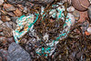 Frayed rope and polypropylene twine washed up at Petit Port on Guernsey's south coast on 26th January 2020