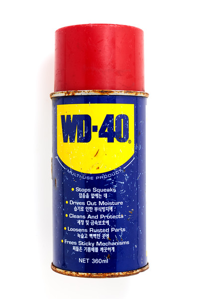 WD-40 can from Korea washed up on Petit Port on Guernsey's south coast on 30 January 2018