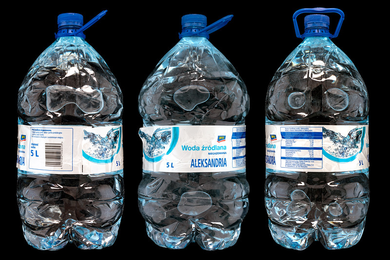 Aleksandria Polish five litre bottled water Sam Reoch collection 3795-Edit