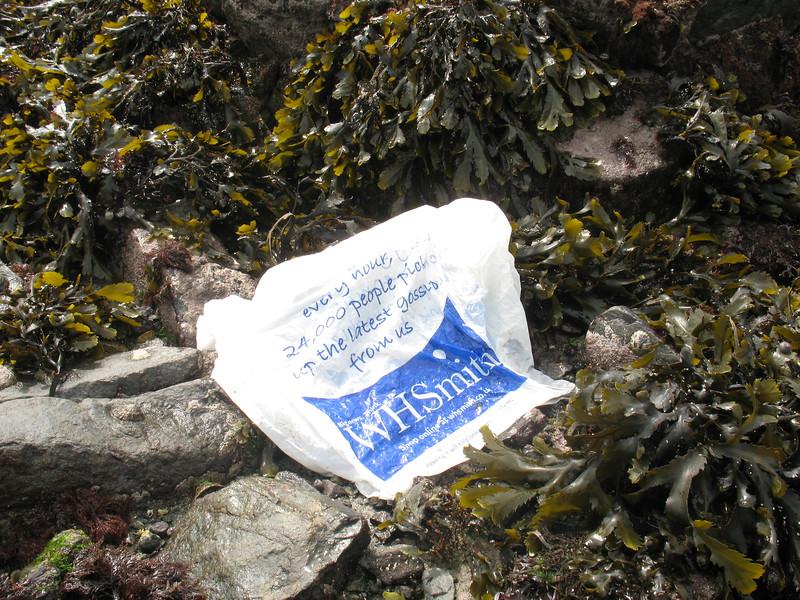 plastic bag WHSmith BG 190408 4263 smg
