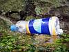 QE II marina SE corner Lucozade bottle litter 020607 061 smg