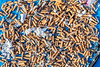 Cigarette litter collected from Les Tielles car park, Torteval, Guernsey on 5th August 2020