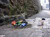 St Peter Port street litter 230605 704