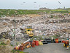 Mont Cuet landfill on Guernsey's north coast on 5th June 2007