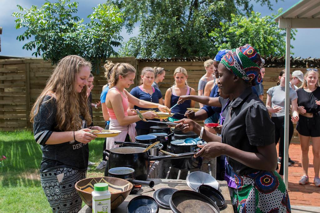 Lusumpuko Women's Club in Victoria Falls, Zimbabwe