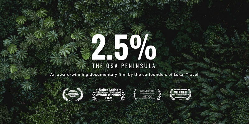 2.5% – The Osa Peninsula, a film by Eytan Elterman and Marco Bollinger