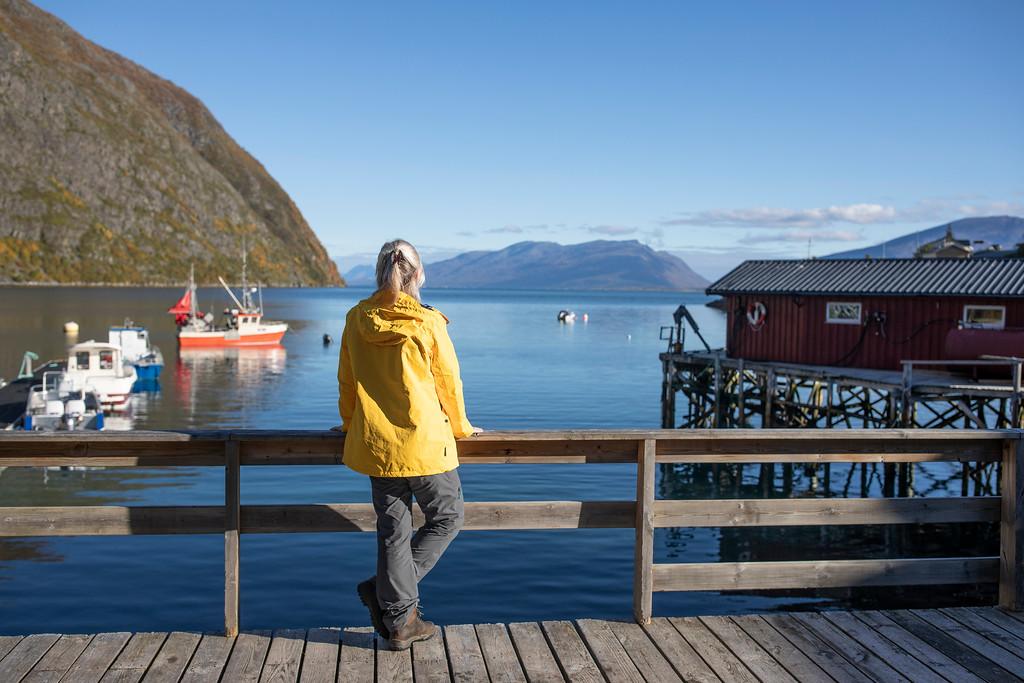 Emma Durkin, founder of Where the Wild Is, in Norway