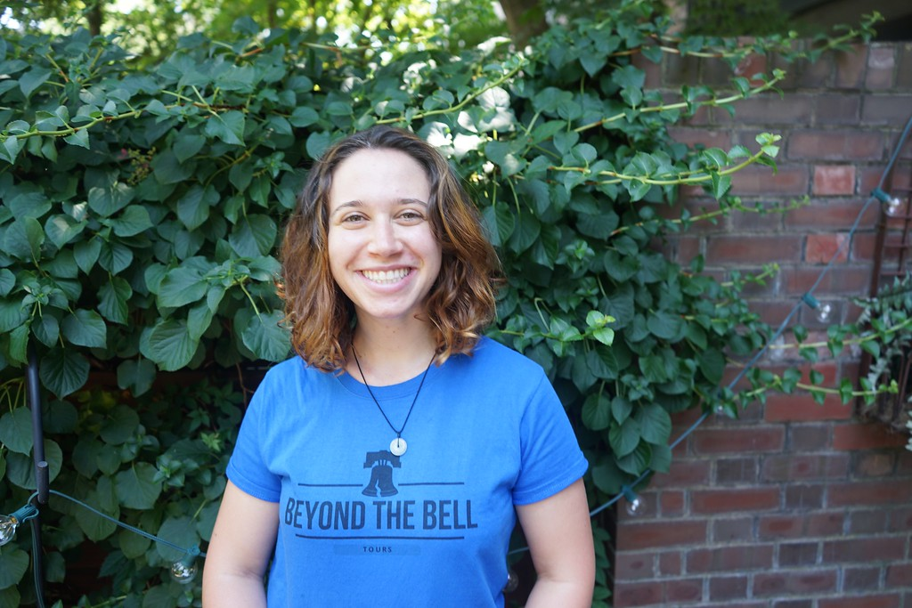 Rebecca of Beyond the Bell tour company in Philadelphia, PA