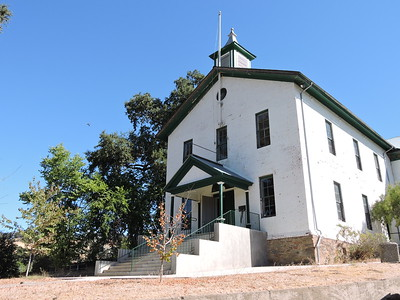 Sutter Creek Then and Now Photo 18 - Old Schoolhouse