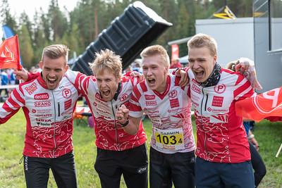 Tampereen Pyrintö - Miesten SM-viestin kultaa