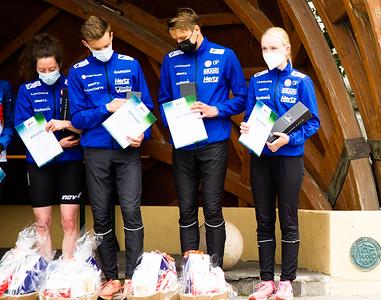 Suomi kuudes sprinttiviestissä