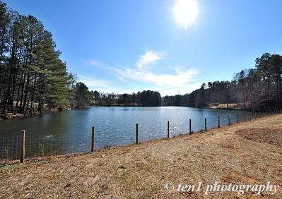 Sims Lake at Sims Lake Park