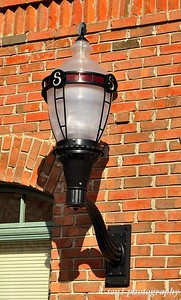 The City of Suwanee Lamp post which is prominent throughout the city of Suwanee
