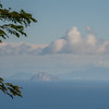 View of Redonda and Montserrat from the veranda