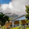 Mt. Nevis rising behind