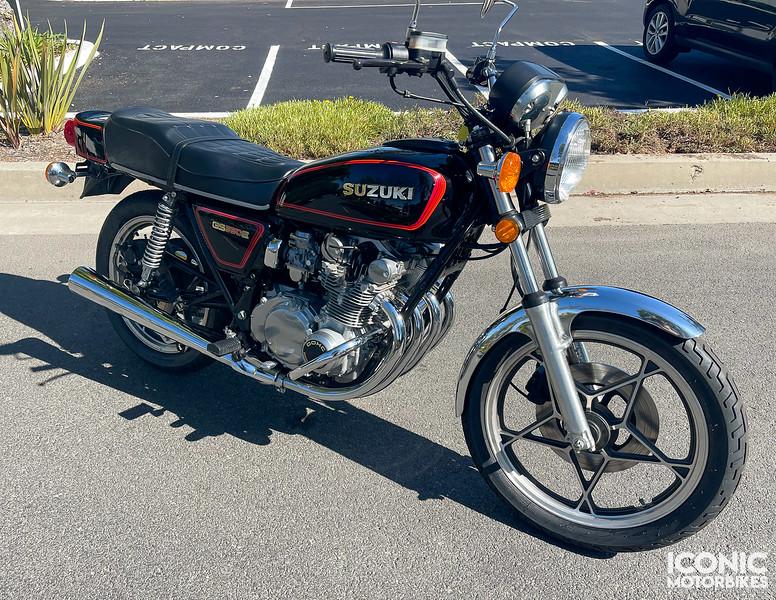 Suzuki GS550E -  (1)