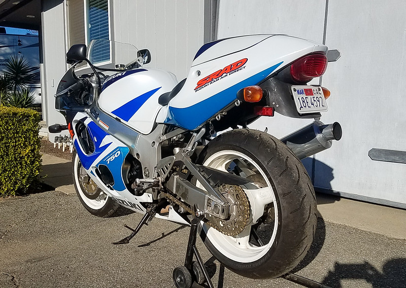 Suzuki GSX-R750 -  (10)