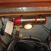 automatic halon extinguisher