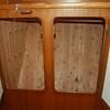locker in owners' cabin starboard side