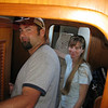 Jason giving Gina a tour