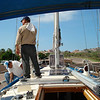 getting the mast ready to come out