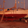 our neighbor - Jacques' - boat Oceanis II
