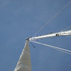 jib up to the top of the mast