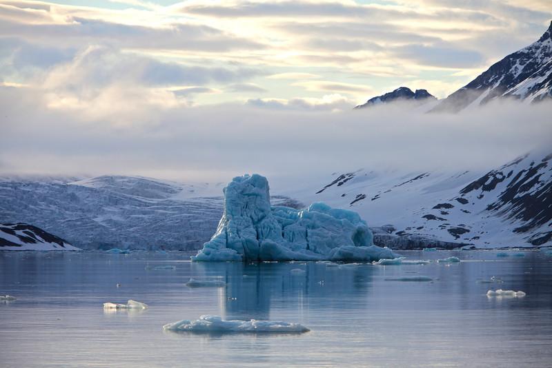 Iceberg in Hornsund