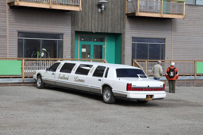 Longyearbyen stretch limo
