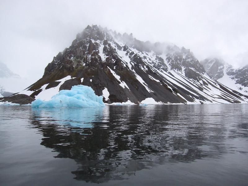 Ice in Hornsund