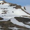 Intrepid walkers above Recherchefjord