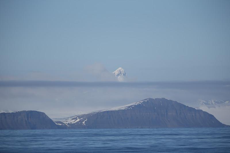 Spitsbergen scenery from Storfjorden