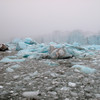 Dirty ice near Brasvelbreen