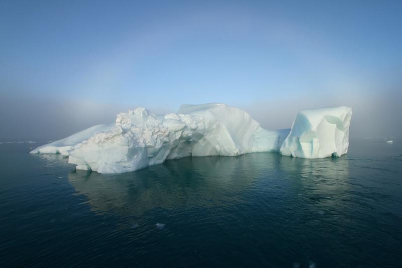 Iceberg near Brasvelbreen