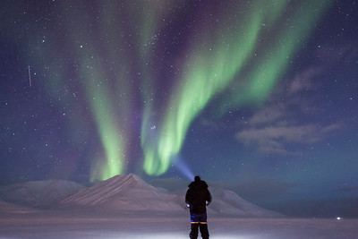 watching northern lights
