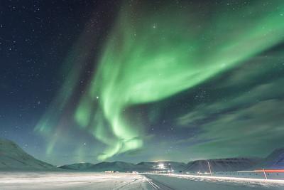 aurora borealis longyearbyen