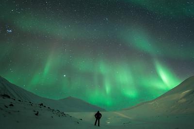 aurora borealis gazing