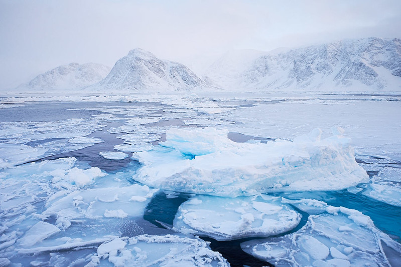 10.) Sea Ice forming...