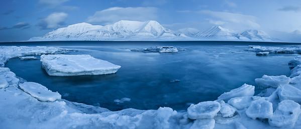 arctic ice vista