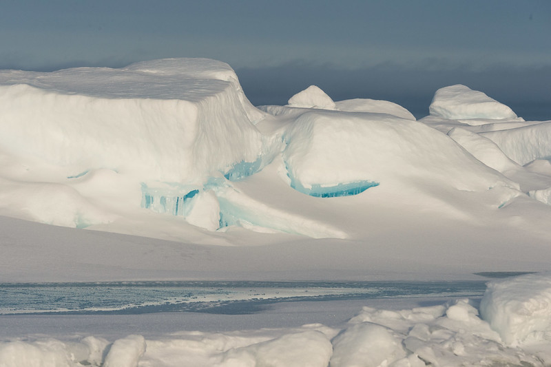 Ice landscape, Svalbard