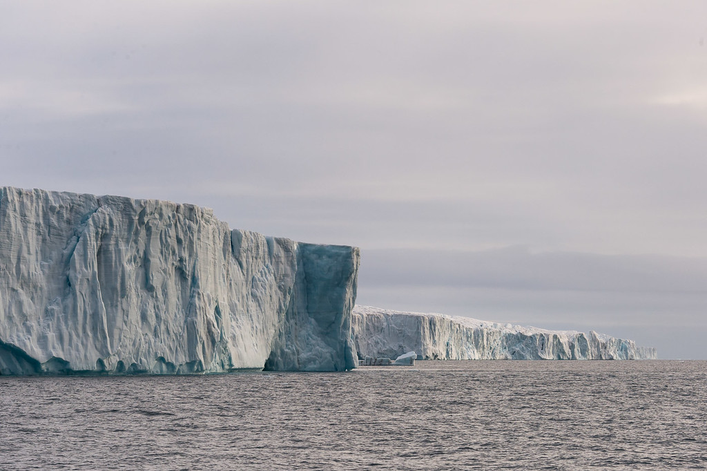 Ice cliffs, Svalbard